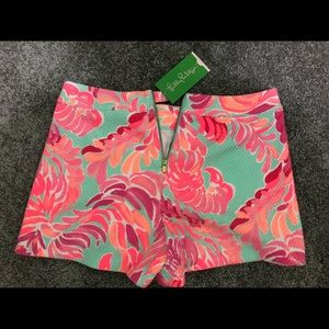 Lilly Pulitzer Shorts NWT Size 0